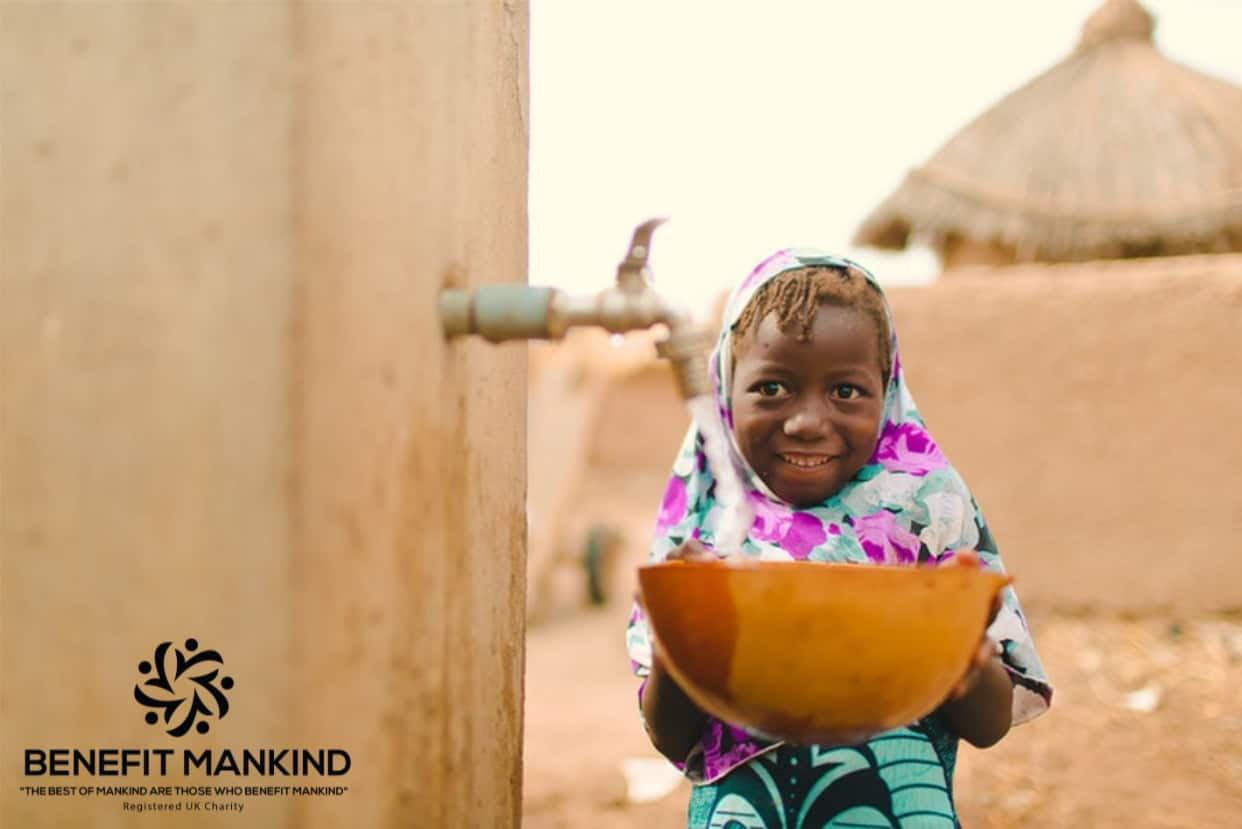 Benefit Mankind water projects