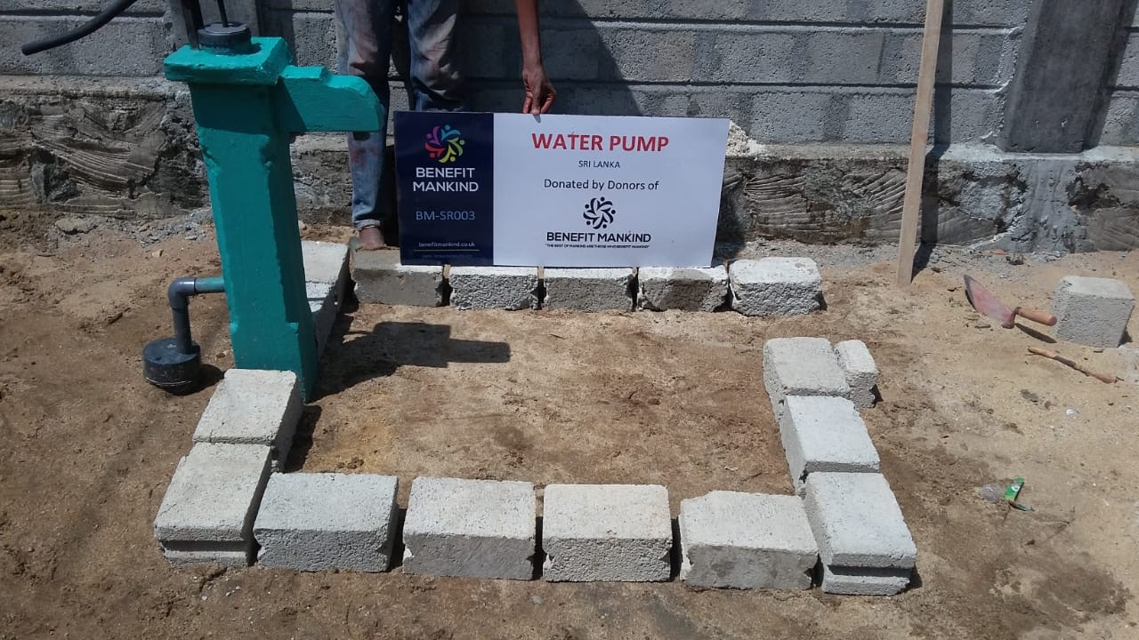 Water projects   Benefit Mankind