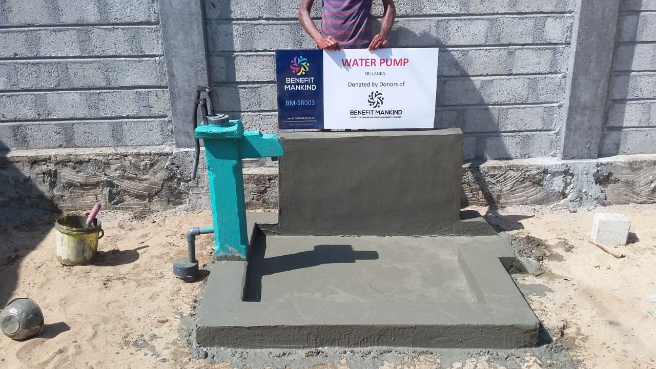 Water projects | Benefit Mankind